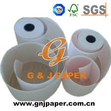 China Big Roll Packing White Chart Paper For Medical