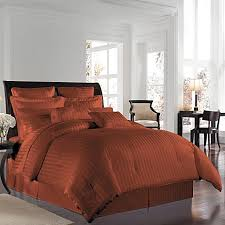 rust colored comforter sets. interesting comforter wamsutta 500 damask comforter set in rust and colored sets p