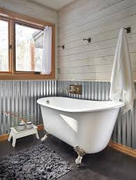 diy metallic wall bathroom farmhouse with metal basket metal utility hooks
