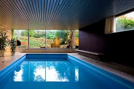 Indoor Outdoor Pool Residential Interior Entrancing Indoor Swimming Pool Design Pools For