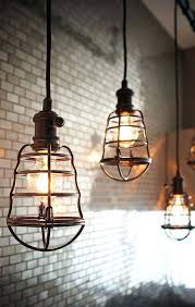 cage light fixture cordless lamp ideas industrial lowes industrial cage light fixture m63