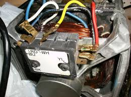 cheater cords for washer motors and here is my motor wiring block