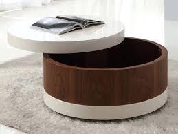 beautiful round modern coffee table coffee table modern coffee table storage astounding brown round modern round