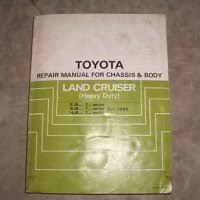 toyota land cruiser fj electrical wiring diagram original  1984 toyota fj6 bj6 hj6 land cruiser service manual
