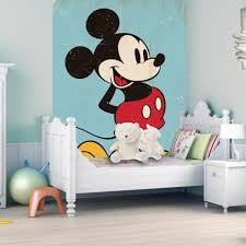 Mickey Mouse Bedroom Furniture Vintage Mickey Mouse Wallpaper Great Kidsbedrooms The Children