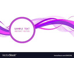 Purple Background Design Purple Wave Abstract Background Graphic Design