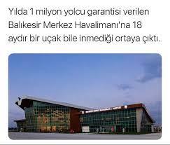 balıkesir merkez havalimanı 1milyon yolcu garantsi - uludağ sözlük