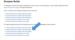 Eclipse Smarthome Designer Openhab 2 Installing The Designer Openhab2 Compendium