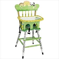 funky baby furniture.  baby teamson kids sunny safari hand painted wood baby high chair throughout funky furniture n