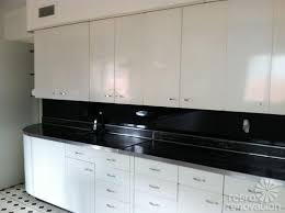 modern concept metal kitchen with retro metal kitchen