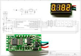 hacking a cheap led voltmeter digital me voltmeter schematic