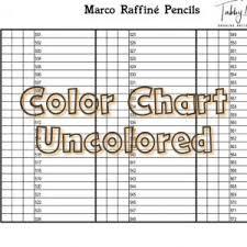Derwent Coloursoft Color Chart Derwent Coloursoft Color Chart 72 Colors Tabby May Art