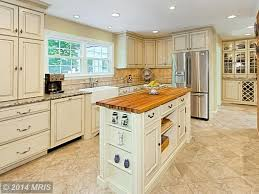 Stone Tile Kitchen Floors Traditional Kitchen With Kitchen Island Stone Tile In Clifton