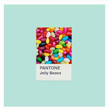 Jelly Bean Colour Chart Pantone Jelly Beans Pantone In 2019 Pantone Pantone