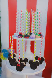 Karas Party Ideas Mickey Mouse Circus Birthday Party