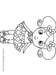 Cute Girl Colouring Pages Csengerilawcom