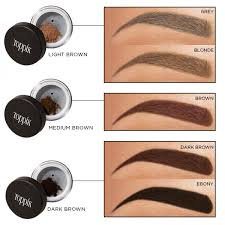 Toppik Brow Building Fibres Colour Chart_1 Hair Loss