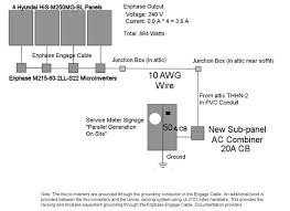 enphase wiring diagram m enphase image wiring 6 3 kilowatt ground mount home solar array 18 steps pictures on enphase wiring diagram