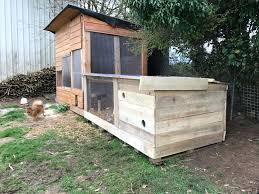 plan de poulailler en bois luxe poulailler et clapiers lapin fait maison palette et bardage