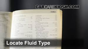 transmission fluid level check chevrolet bu 2008 2012 2010 4 add fluid determine correct fluid type and add fluid