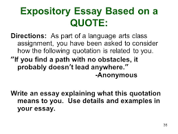 new jersey ask english language arts review ppt expository essay based on a quote