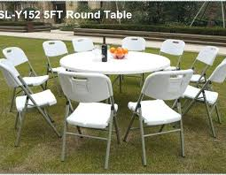 round folding tables for hot plastic round folding table for banquet picnic camping dining round folding tables