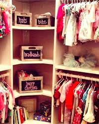 nursery closet organization easy baby ideas pictures and diy clothes organizer