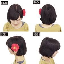 ショートヘアを活かしたい短い髪のこだわりアレンジ 成人式に