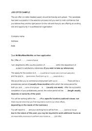 Counter Offer Letter Template – Resume Directory