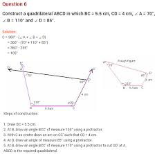 practical geometry ncert extra questions for class 8 maths