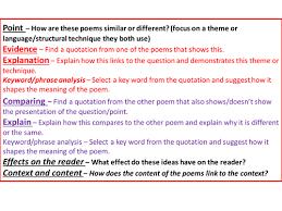 how to write a gcse english poetry essay how to write a gcse english literature poetry essay teaching