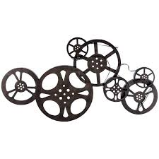 Small Picture Antique Bronze Metal Movie Reel Wall Decor Hobby Lobby 314377