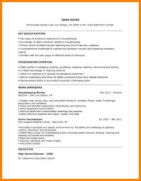Housekeeping Resume 100 Housekeeping Resumes Samples Informal Letters 33