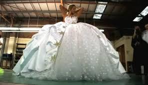 gypsy wedding dresses photos video of impressively big wedding