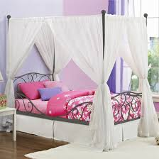 Bed Canopy Diy Bed Canopy Curtains Us House And Home Real Estate Ideas