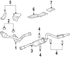 parts com® gmc sierra 2500 hd exhaust components oem parts 2007 gmc sierra 2500 hd wt v8 6 0 liter gas exhaust components