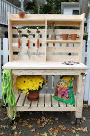 Full Size of Bench:garden Potting Bench Pallet Potting Bench Awesome Garden  Potting Bench Simple
