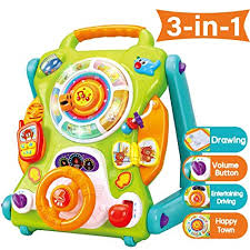 iPlay, iLearn Baby Sit to Stand Walkers Toys, Kids Activity Center, Toddlers Musical Amazon.com: