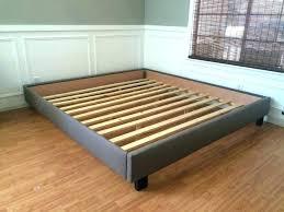 king size bed frame dimensions. King Size Bed Frames Platform Frame  Gray Upholstered Dimensions N