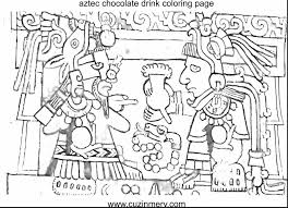 Best Solutions Of Mayan Calendar Coloring Page New Aztec Pages