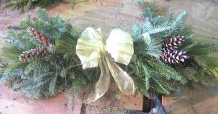Pine Branches For Decoration How To Make A Swag Christmas Out Of Pine Tree Branches Spruce