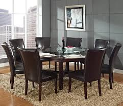 72 inch round dining table pertaining to steve silver hartford in dark oak ideas 0