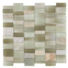elida ceramica monarch autumn gl mosaic indoor outdoor wall tile mon x actual x lowes