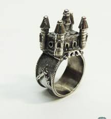 sterling silver jewish wedding ring