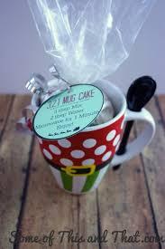321 mug cake diy gift