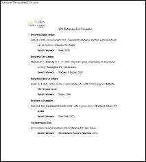 Resume Reference List Template Reference List Template Sample