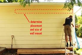 this tutorial will walk you through the process of wall mounting a pergola frame so you can decide if it would be a good move for your space