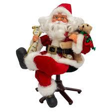 Дед Мороз Красный Музыкальный, Сидящий на Офисном ...