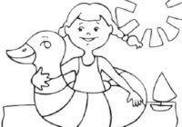 Disegni Sullestate E Le Vacanze Per Bambini Da Colorare Da Stampare