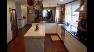 Narrow Kitchen Image Gallery Of Long Narrow Kitchen Designs Ideas With Island In